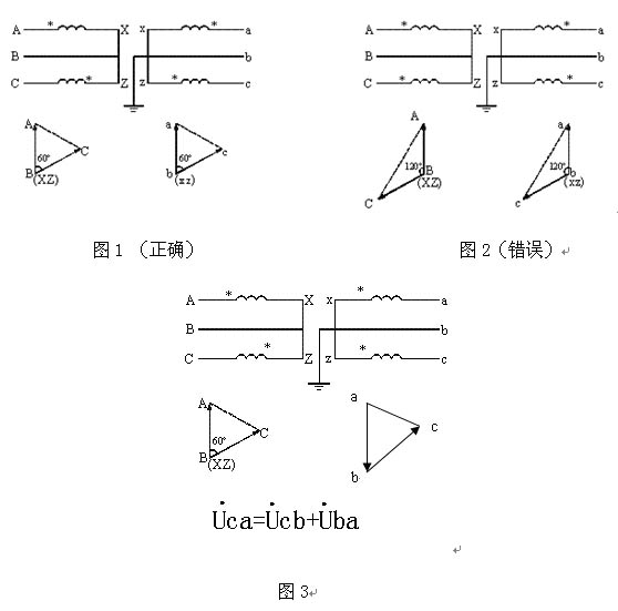 星形接发转到三角形接法电路图