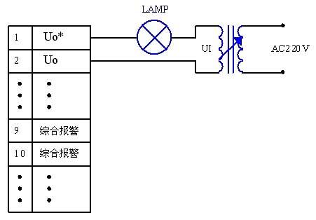 微机消谐装置接线图