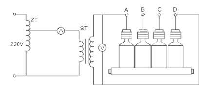 过电压保护器试验接线图